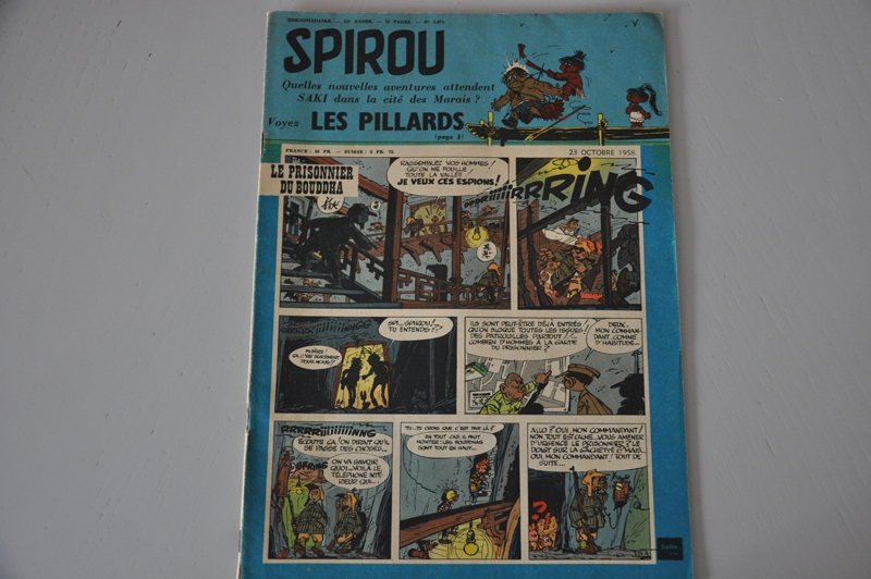 Spirou23.Octobre1958cover